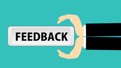 Illustration de feedback client